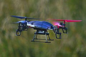 analisi fotospettrometrica con droni